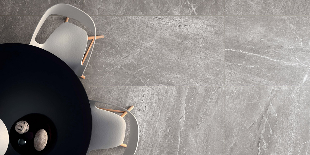 Ames Tile - Denmark Series Medium Grey