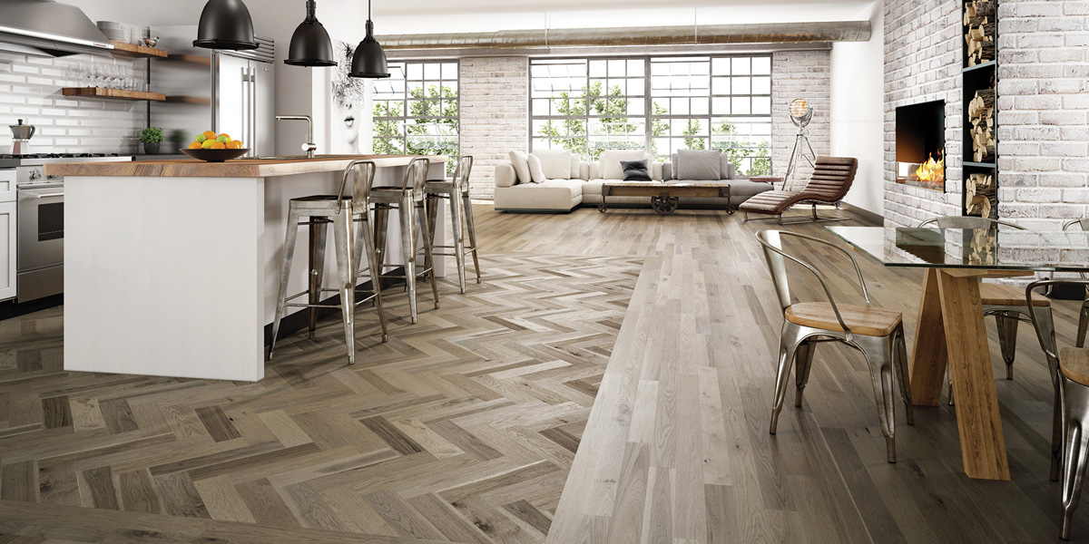 Lauzon - Ambiance Collection Sabia Herringbone