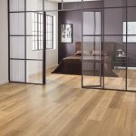 warm ash wood floor bedroom